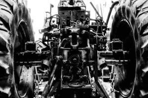 Traktor in Reparatur